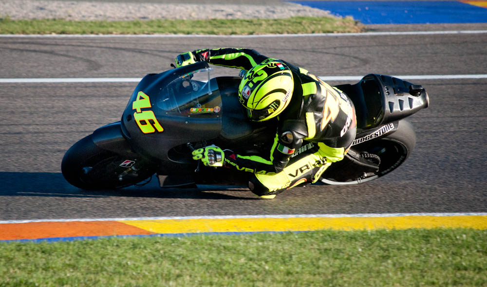 rossi on the duc